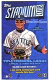2014 Topps Stadium Club Baseball Hobby Mini-Box