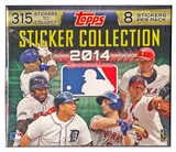 2014 Topps Baseball Hobby Sticker Box