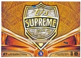 2013 Topps Supreme Baseball Hobby Box