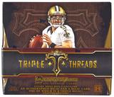2014 Topps Triple Threads Football Hobby Box