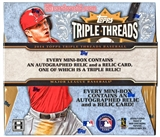 2014 Topps Triple Threads Baseball Hobby 18-Box Case- DACW Live 30 Spot Random Break #3
