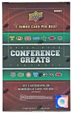2014 Upper Deck Conference Greats Football Hobby Box (PLUS 1 College Colors Bonus Pack!)