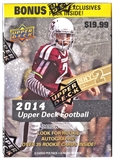 2014 Upper Deck Football 8-Pack Box