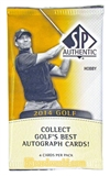 2014 Upper Deck SP Authentic Golf Hobby Pack