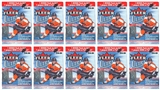 2014/15 Upper Deck Fleer Ultra Hockey 8-Pack Box (Lot of 10)