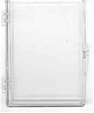 Ultra Pro 10/15 Count Plastic Box Hinged Snap Case (100 Count Case)