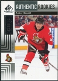 2011/12 Upper Deck SP Game Used #150 Andre Benoit /699