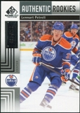 2011/12 Upper Deck SP Game Used #153 Lennart Petrell RC /699