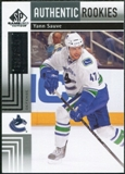 2011/12 Upper Deck SP Game Used #162 Yann Sauve /699