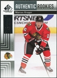 2011/12 Upper Deck SP Game Used #164 Marcus Kruger RC /699