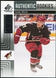 2011/12 Upper Deck SP Game Used #171 Andy Miele /699