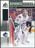 2011/12 Upper Deck SP Game Used #182 Eddie Lack /699