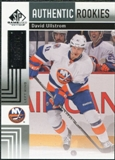 2011/12 Upper Deck SP Game Used #188 David Ullstrom /699
