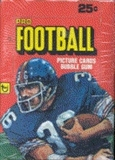 1980 Topps Football Wax Box