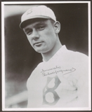 Rube Marquard Autographed Brooklyn Dodgers 8x10 Baseball Photo