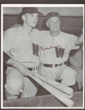 Bucky Harris Autographed Washington Senators 8x10 Baseball Photo