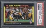 1987 Fleer Football Team Action #44 Steelers Defense PSA 10 (GEM MT) *4898