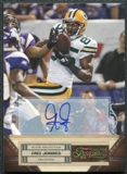 2011 Panini Timeless Treasures Autographs Gold #36 Greg Jennings Autograph 2/15