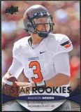 2012 Upper Deck #62 Brandon Weeden