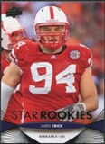2012 Upper Deck #90 Jared Crick RC