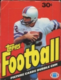 1981 Topps Football Wax Box
