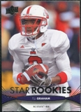 2012 Upper Deck #240 T.J. Graham RC