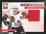 2011/12 Panini Elite New Breed Materials #4 Brandon Saad