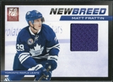 2011/12 Panini Elite New Breed Materials #15 Matt Frattin