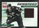 2011/12 Panini Elite New Breed Materials #34 Tomas Vincour