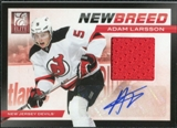 2011/12 Panini Elite New Breed Materials Autographs #1 Adam Larsson RC Auto /50