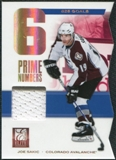 2011/12 Panini Elite Prime Number Jerseys #1 Joe Sakic /600