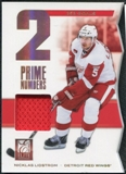 2011/12 Panini Elite Prime Number Jerseys #31 Nicklas Lidstrom /200