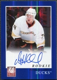2011/12 Panini Elite Rookie Autographs #239 Peter Holland RC Autograph