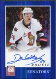 2011/12 Panini Elite Rookie Autographs #253 Stephane Da Costa RC Autograph