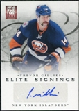 2011/12 Panini Elite Signings #13 Trevor Gillies Autograph