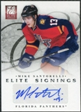 2011/12 Panini Elite Signings #46 Mike Santorelli Autograph