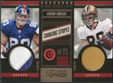 2011 Panini Timeless Treasures Changing Stripes Prime #11 Jeremy Shockey /49