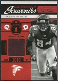 2011 Panini Timeless Treasures Game Day Souvenirs 1st Quarter #8 Roddy White /115