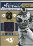 2011 Panini Timeless Treasures Game Day Souvenirs 1st Quarter #11 Steven Jackson /250