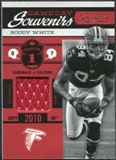 2011 Timeless Treasures Game Day Souvenirs 1st Quarter #29 Roddy White /99