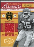 2011 Panini Timeless Treasures Game Day Souvenirs 2nd Quarter #21 Jamaal Charles /165