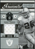 2011 Panini Timeless Treasures Game Day Souvenirs 2nd Quarter #22 Darren McFadden /190