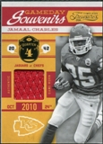 2011 Timeless Treasures Game Day Souvenirs 4th Quarter #21 Jamaal Charles /165