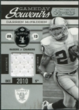 2011 Panini Timeless Treasures Game Day Souvenirs 4th Quarter #22 Darren McFadden /190