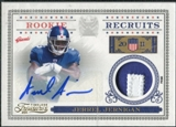 2011 Panini Timeless Treasures Rookie Recruits Materials Autographs Prime #23 Jerrel Jernigan Autograph /25