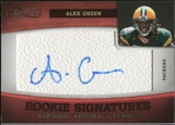 2011 Panini Timeless Treasures #133 Alex Green RC Autograph /265