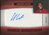 2011 Panini Timeless Treasures #195 Quinton Carter RC Autograph /299