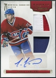 2011/12 Panini Rookie Anthology #112 Louis Leblanc RC Jersey Autograph 125/199