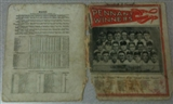1911 Pennant Winners Baseball Cover (Mathewson, McGraw, Doyle)