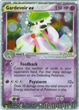 Pokemon Sandstorm Single Gardevoir ex 96/100 - SLIGHT PLAY (SP)